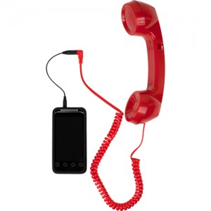 Retro Phone Cell Phone Handset red