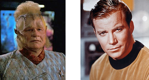 Kirk and Nelix.  Photos from wikipedia