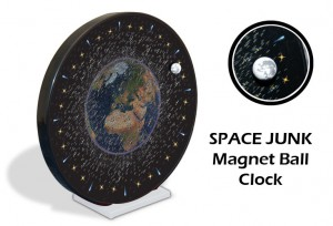 Space Junk Ball Clock