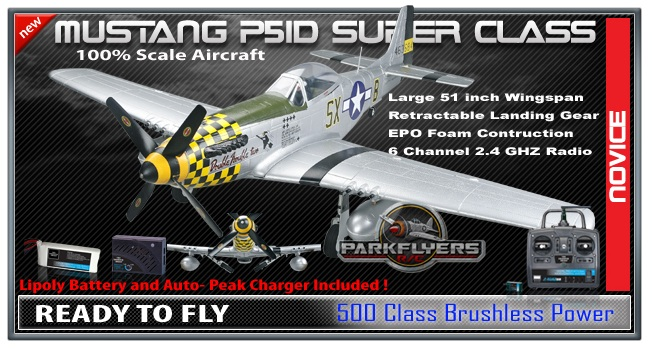 RC Planes - ParkFlyers introduces a new line up of WWII RC ...