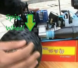 Spin Wheels on Redcat Gear Mesh Test