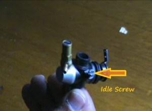 carb idle screw