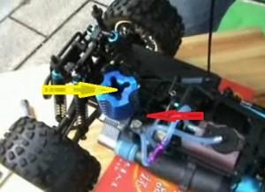 nitro drop in piston and carburetor of Redcat Nitro Engine