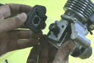 replacing nitro engine pull start replace
