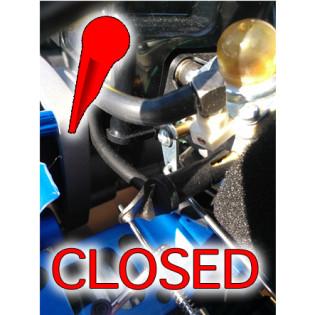 Closed Choke Redcat Engine