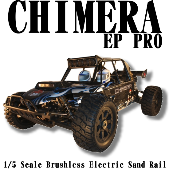 Image of The new Redcat Rampage Chimera EP Pro